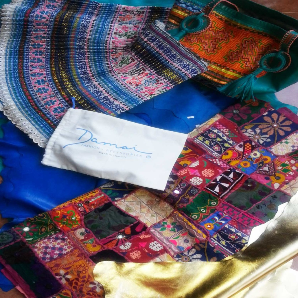 Selection of the fabrics