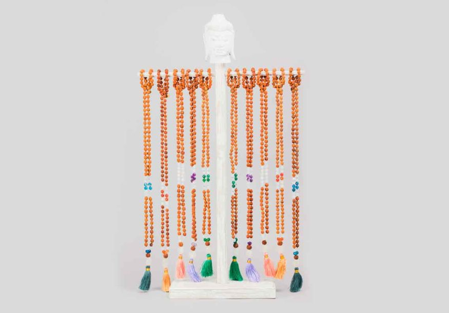 buddha display necklaces